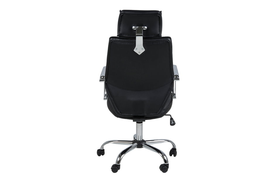 ARNOS Fotel biurowy obrotowy czarny czarny - zdjęcie 3