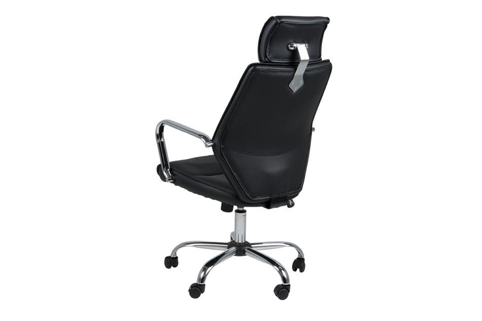 ARNOS Fotel biurowy obrotowy czarny czarny - zdjęcie 4