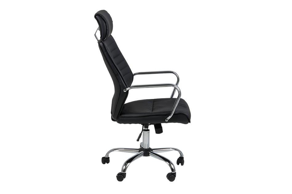 ARNOS Fotel biurowy obrotowy czarny czarny - zdjęcie 5