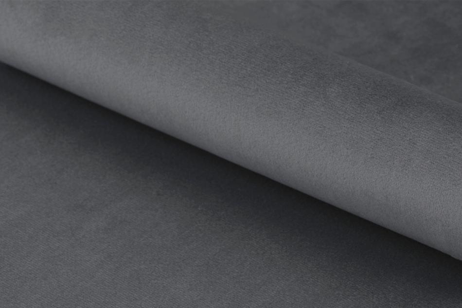 MOTLO Skandynawskie krzesło obrotowe szare ciemny szary - zdjęcie 1