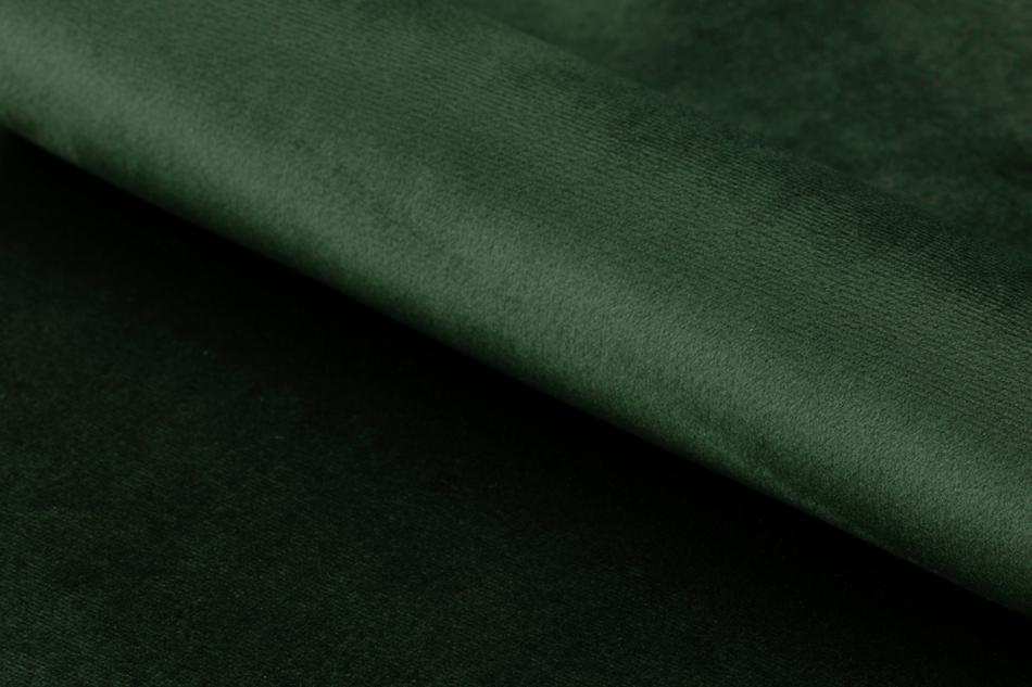 MOTLO Skandynawskie krzesło obrotowe butelkowa zieleń ciemny zielony - zdjęcie 1
