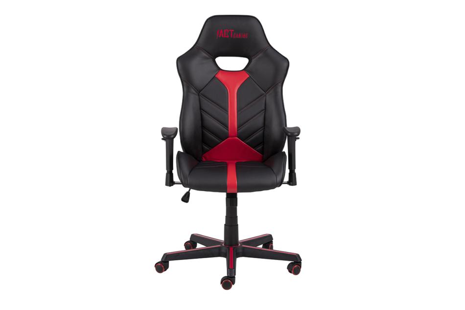 DARCO Krzesło gamingowe czerwień czarny/czarwony - zdjęcie 0