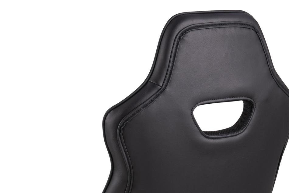 DARCO Krzesło gamingowe czerwień czarny/czarwony - zdjęcie 9