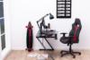 DARCO Krzesło gamingowe czerwień czarny/czarwony - zdjęcie 2