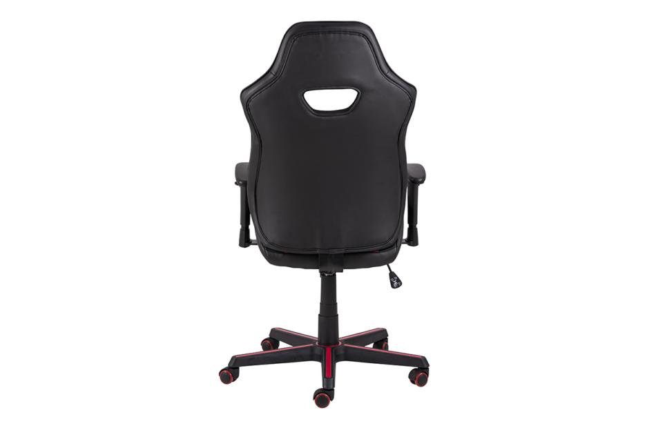 DARCO Krzesło gamingowe czerwień czarny/czarwony - zdjęcie 3
