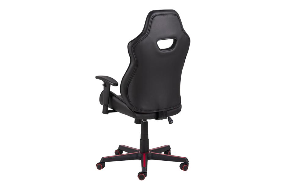 DARCO Krzesło gamingowe czerwień czarny/czarwony - zdjęcie 4