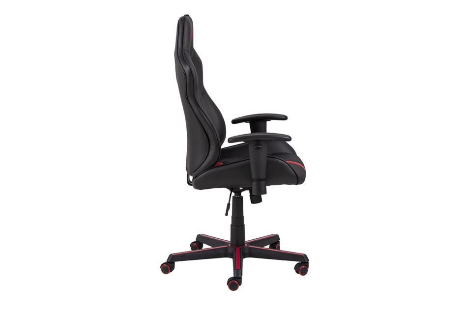 DARCO Krzesło gamingowe czerwień czarny/czarwony - zdjęcie 5