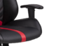 DARCO Krzesło gamingowe czerwień czarny/czarwony - zdjęcie 7