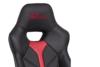 DARCO Krzesło gamingowe czerwień czarny/czarwony - zdjęcie 8