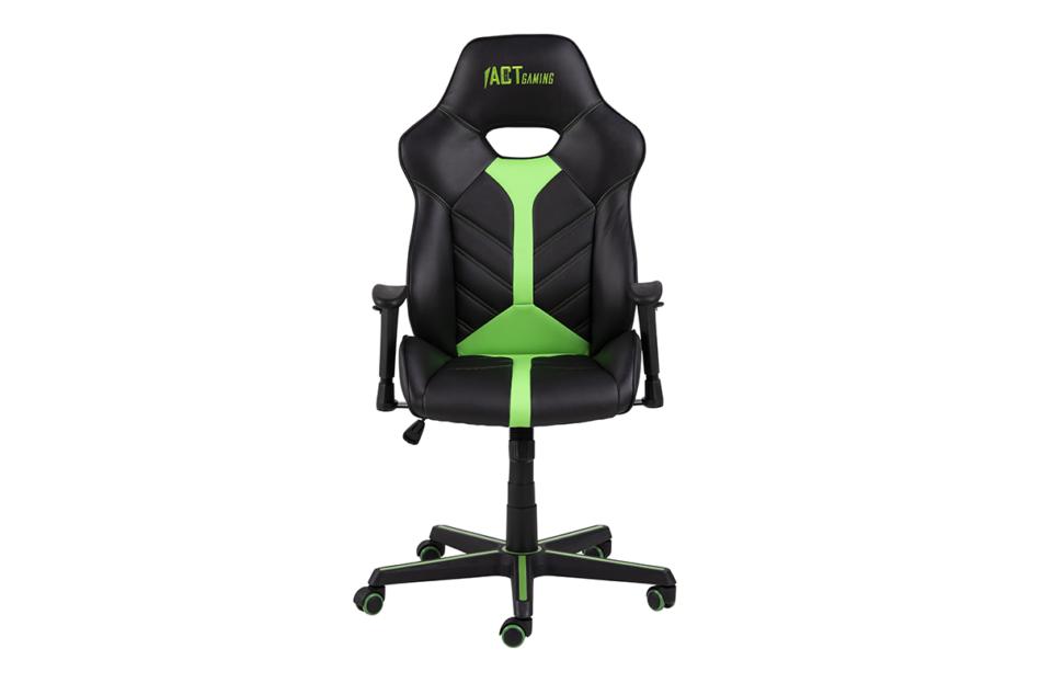 DARCO Krzesło gamingowe zieleń czarny/zielony - zdjęcie 0