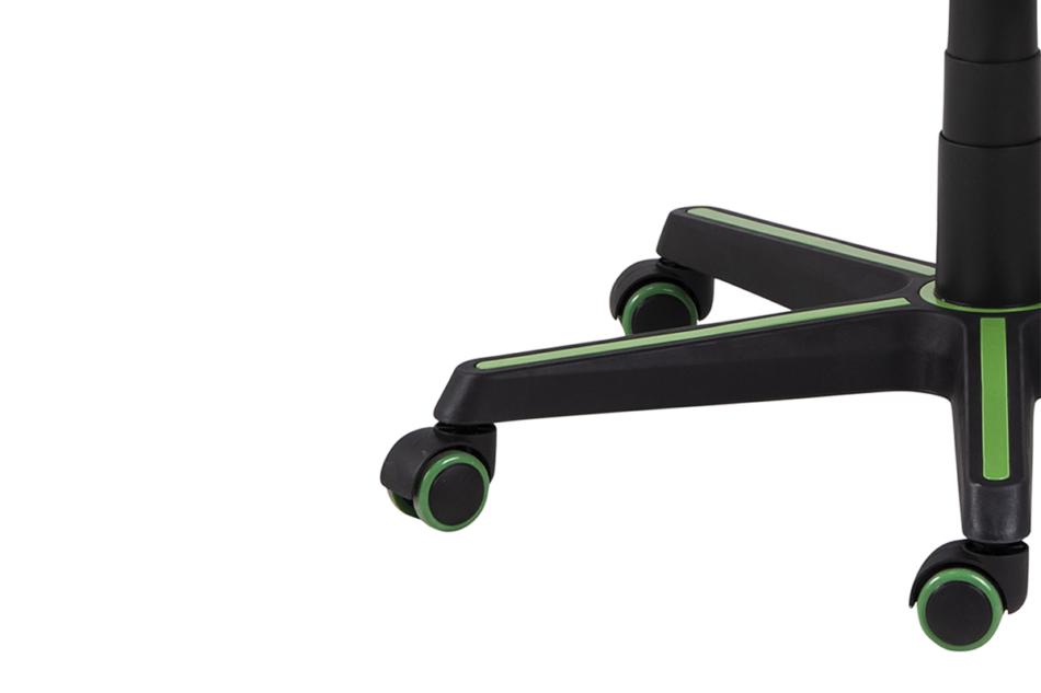 DARCO Krzesło gamingowe zieleń czarny/zielony - zdjęcie 10