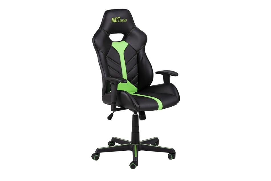 DARCO Krzesło gamingowe zieleń czarny/zielony - zdjęcie 3