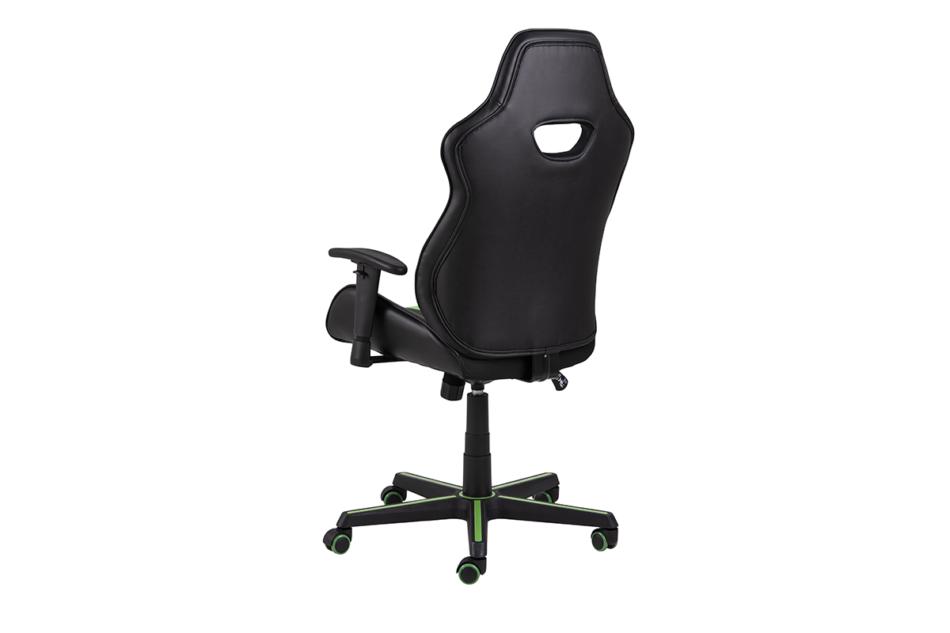 DARCO Krzesło gamingowe zieleń czarny/zielony - zdjęcie 4