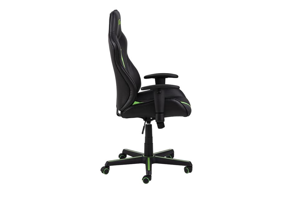 DARCO Krzesło gamingowe zieleń czarny/zielony - zdjęcie 5