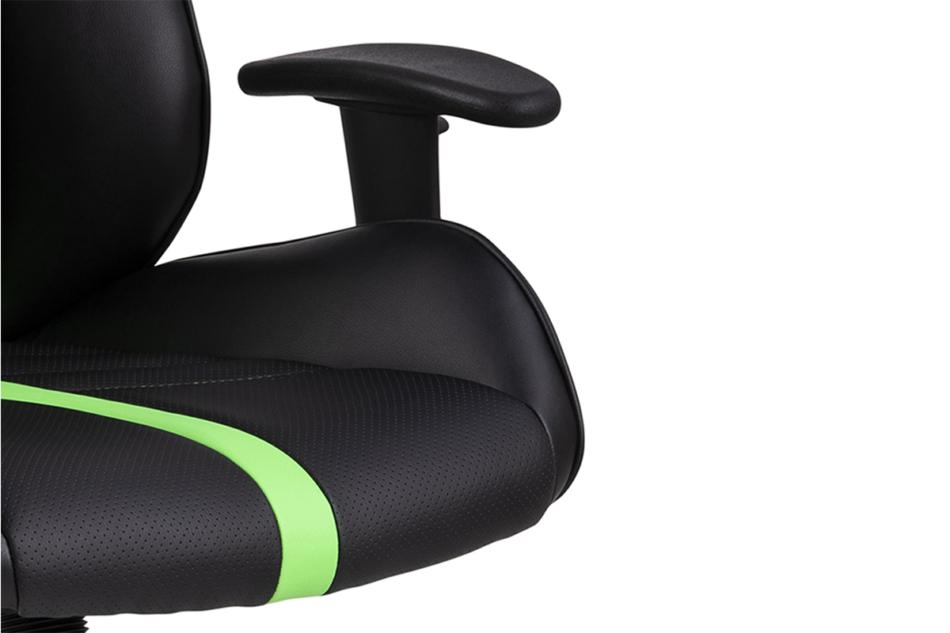 DARCO Krzesło gamingowe zieleń czarny/zielony - zdjęcie 6