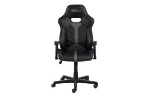 DARCO, https://konsimo.pl/kolekcja/darco/ Krzesło gamingowe czarne czarny/szary - zdjęcie