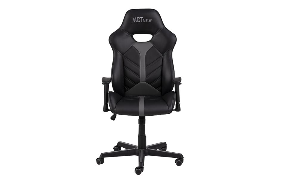DARCO Krzesło gamingowe czarne czarny/szary - zdjęcie 0