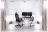 DARCO Krzesło gamingowe czarne czarny/szary - zdjęcie 2