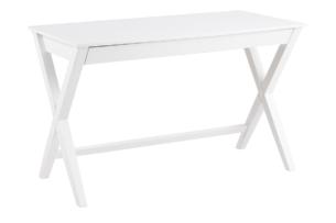 GREGI, https://konsimo.pl/kolekcja/gregi/ Biurko w stylu skandynawskim białe biały - zdjęcie