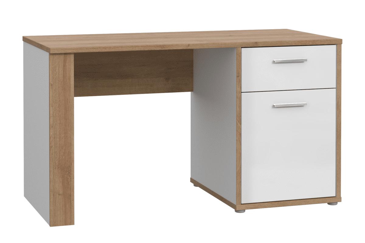 Designerskie biurko z szufladą