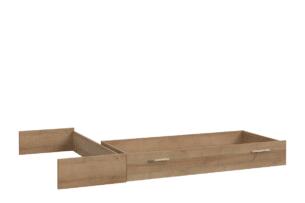 CHICORY, https://konsimo.pl/kolekcja/chicory/ Pojemna szuflada do łóżka dąb naturalny - zdjęcie