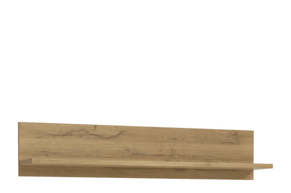HAVANNA Nowoczesna półka wisząca na książki dąb - zdjęcie 0