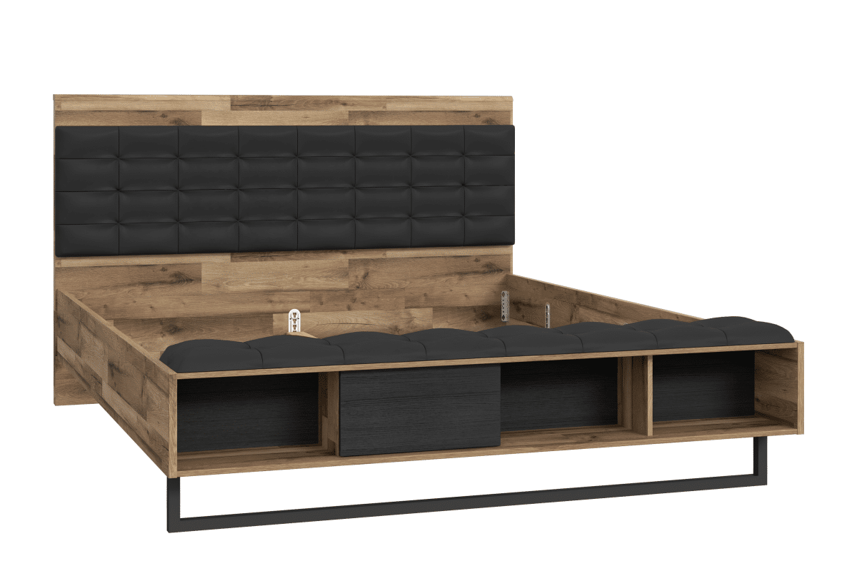 Elegancka rama łożka 160x200