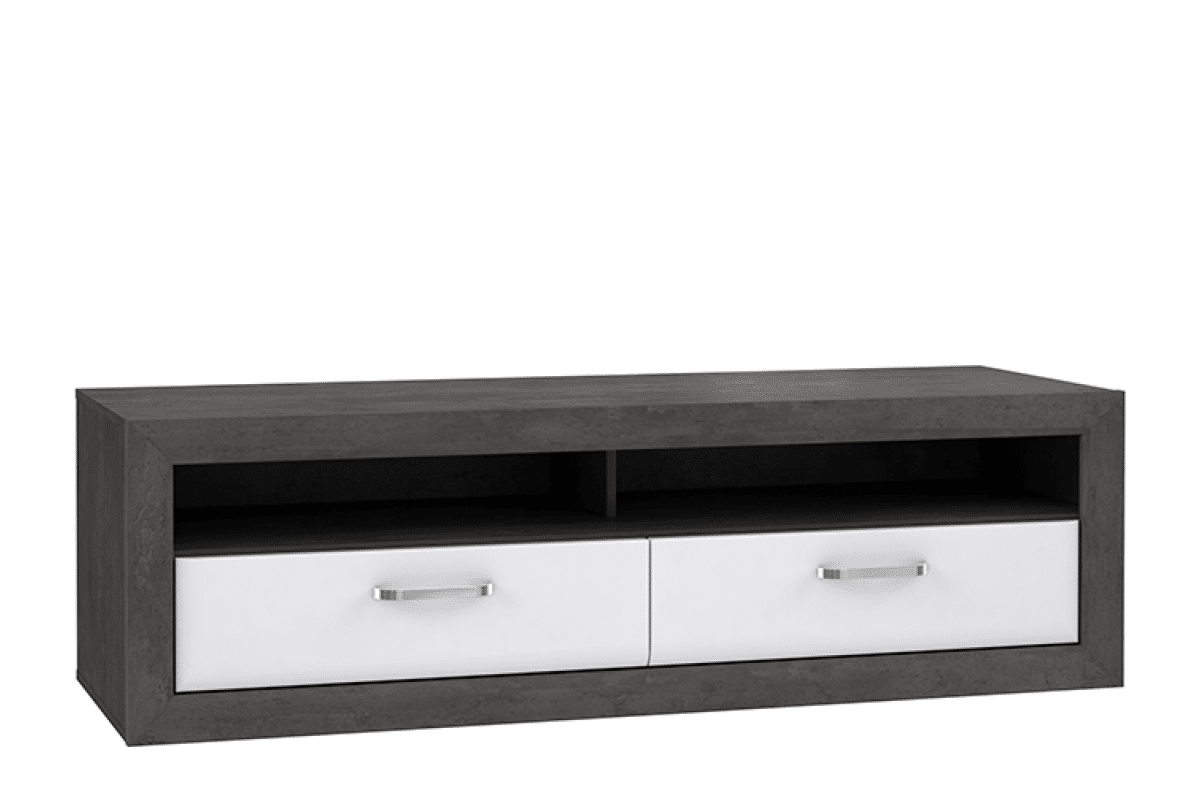 Stylowa szafka RTV z szufladami
