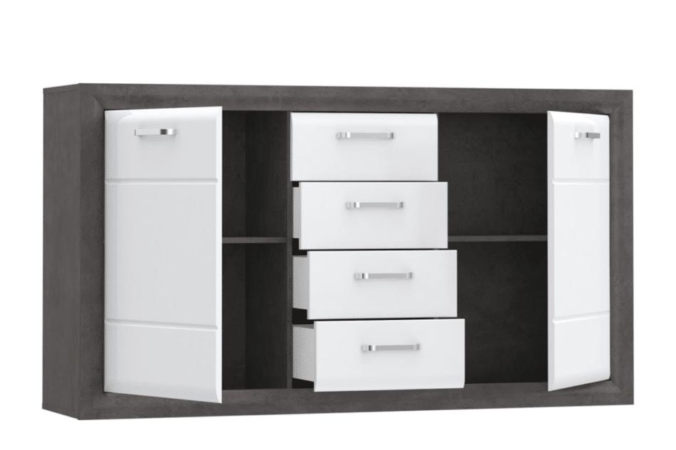 LENNOX NEW Stylowa komoda z szufladami biały - zdjęcie 2