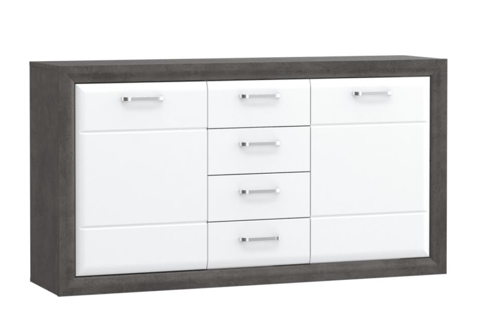 LENNOX NEW Stylowa komoda z szufladami biały - zdjęcie 0
