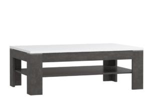 LENNOX NEW, https://konsimo.pl/kolekcja/lennox-new/ Stylowy stolik kawowy do salonu biały - zdjęcie