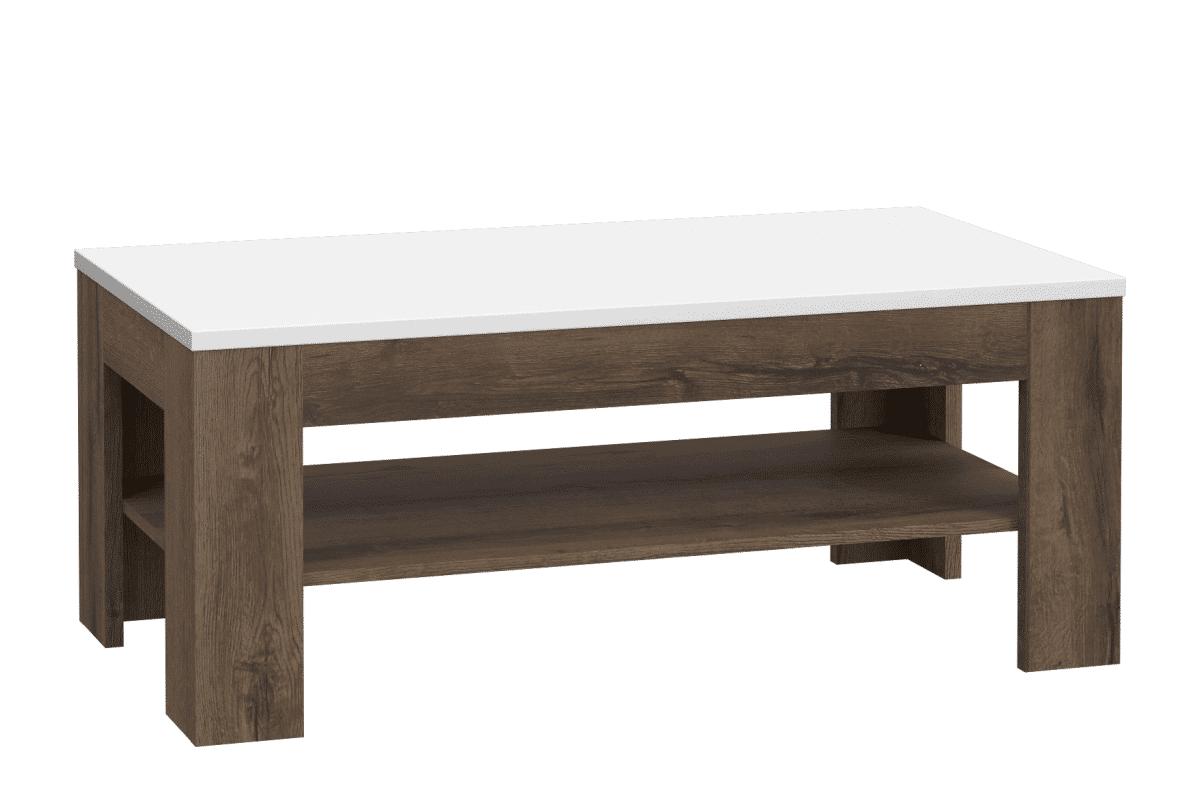 Funkcjonalny stolik kawowy do salonu