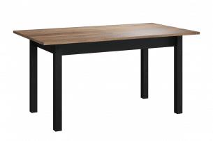 RICATO, https://konsimo.pl/kolekcja/ricato/ Nowoczesny stół rozkładany czarny dąb wersal/czarny - zdjęcie