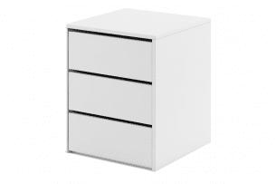 TIVO, https://konsimo.pl/kolekcja/tivo/ Kontenerek do szafy biały biały - zdjęcie
