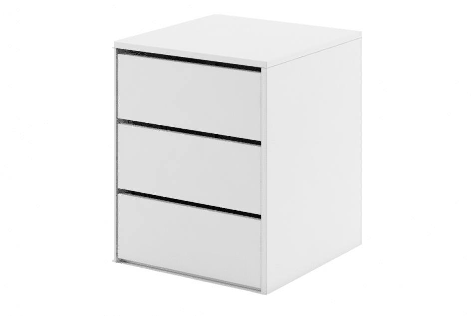 TIVO Kontenerek do szafy biały biały - zdjęcie 0