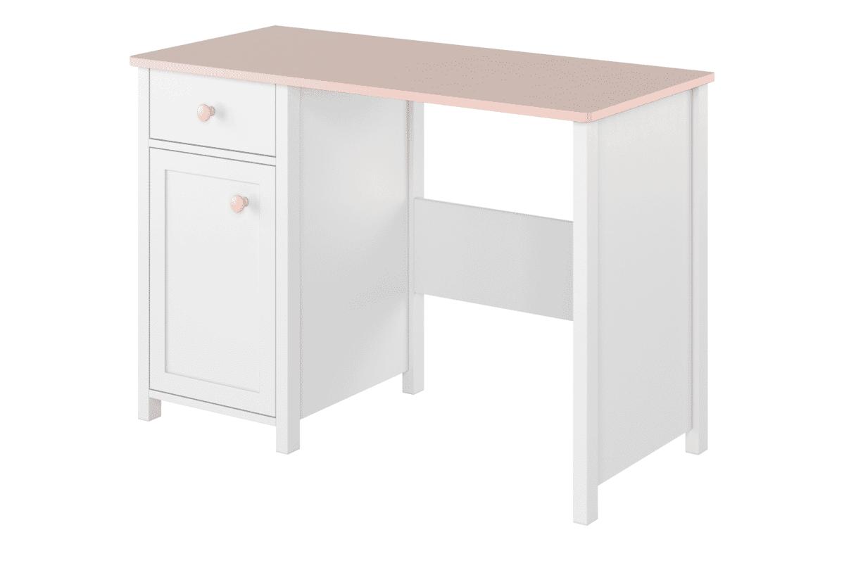 Biurko dla dziewczynki białe