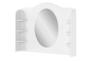 GIGLU, https://konsimo.pl/kolekcja/giglu/ Toaletka dla dziewczynki biała biały/różowy - zdjęcie