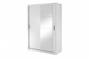 APERA, https://konsimo.pl/kolekcja/apera/ Szafa dwudrzwiowa z lustrem do sypialni biały - zdjęcie