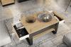 HURICO Komoda z półkami loft dąb artisan/czarny - zdjęcie 6