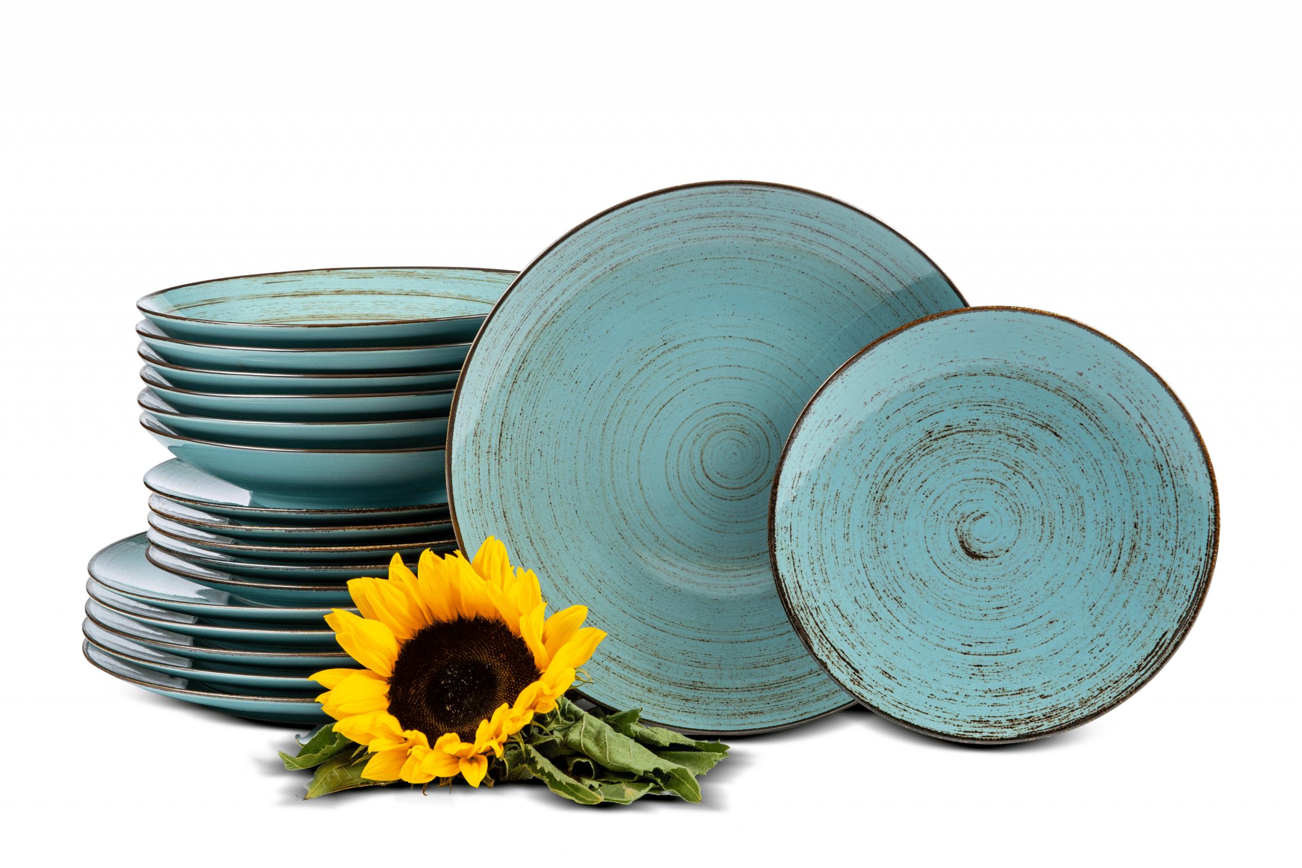 Serwis obiadowy polska porcelana Nostalgia Opal dla 6 os.