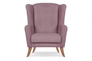 LAMBER, https://konsimo.pl/kolekcja/lamber/ Skandynawski fotel uszak różowy różowy - zdjęcie