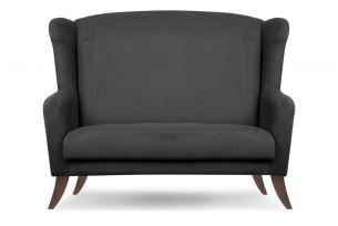 LAMBER, https://konsimo.pl/kolekcja/lamber/ Skandynawska sofa uszak ciemnoszara antracytowy - zdjęcie