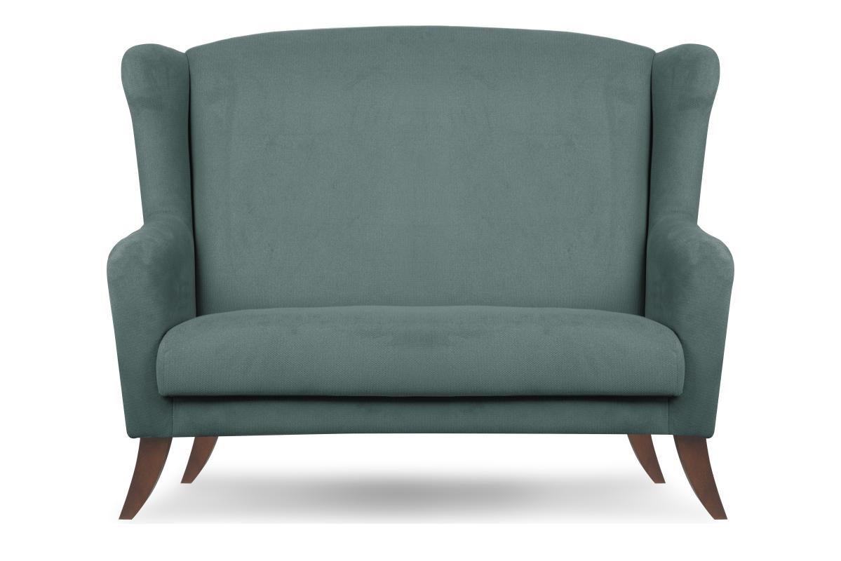 Skandynawska sofa uszak niebieska