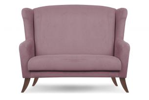 LAMBER, https://konsimo.pl/kolekcja/lamber/ Skandynawska sofa uszak różowa różowy - zdjęcie