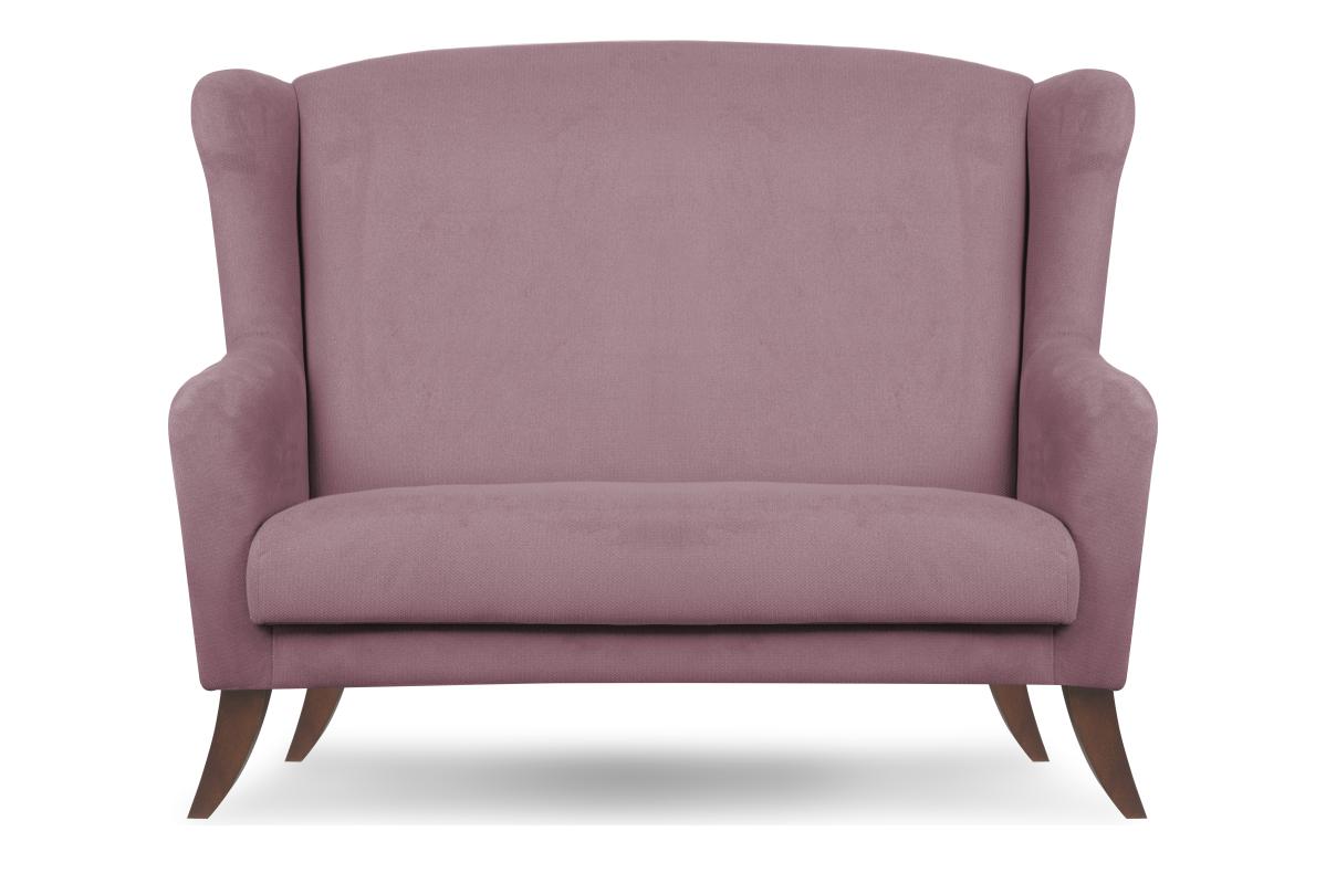 Skandynawska sofa uszak różowa